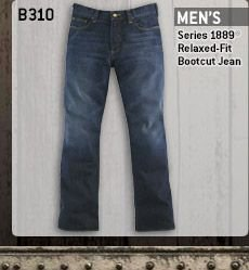 Men's Series 1889 Relaxed Fit Bootcut Jean