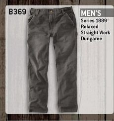 Men's Series 1889 Relaxed Fit Straight Leg Work Dungaree