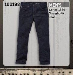Men's Series 1889 Straight Fit Jean