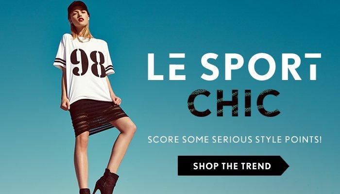 Le Sport Chic - Shop Now