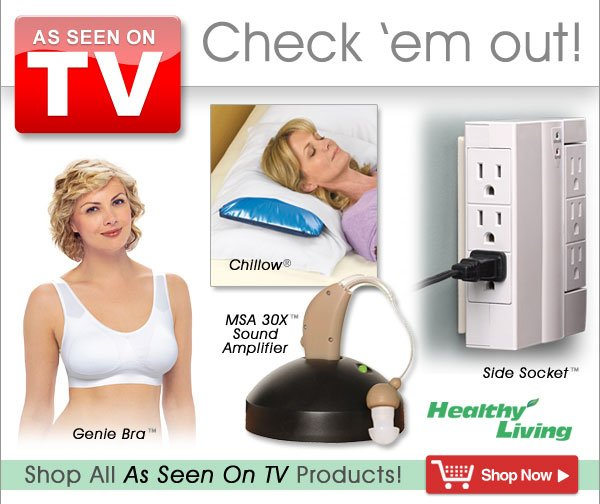 As Seen on TV Products from Healthy Living - America's Number One Healthcare Catalog