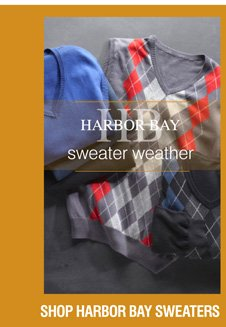Shop All Harbor Bay Sweaters & Vests