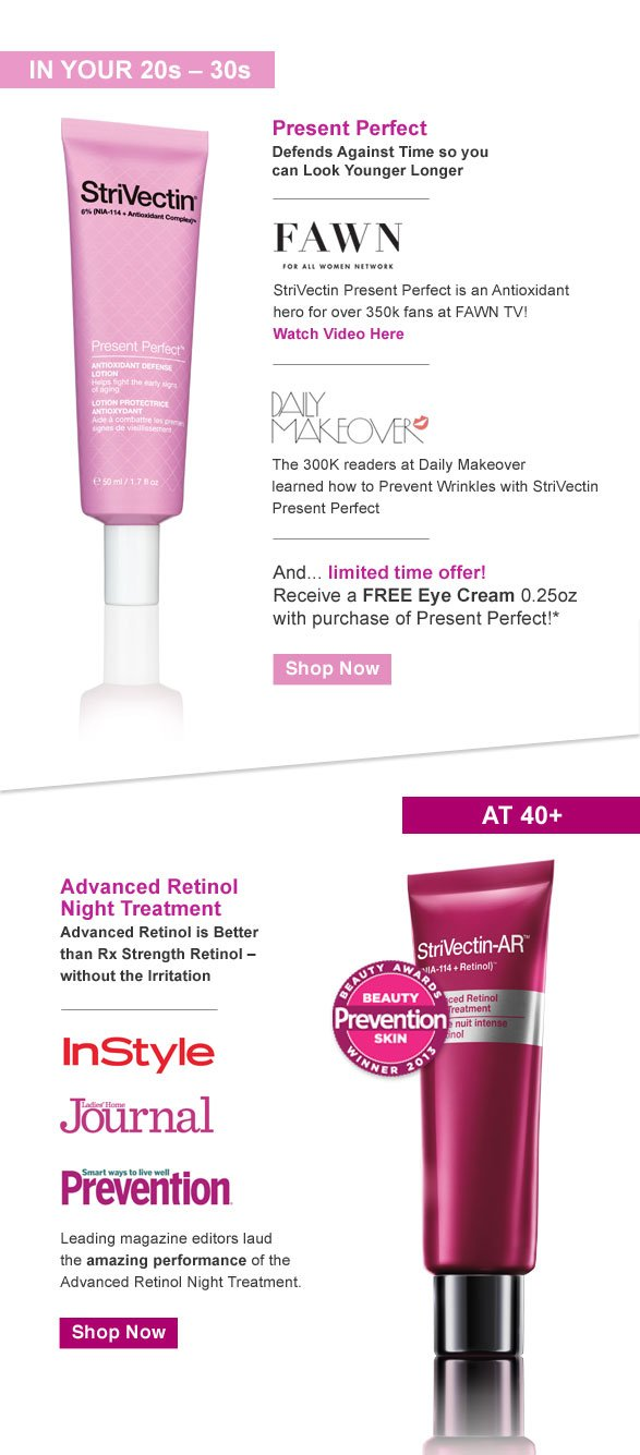 Present Perfect Advanced Retinol Night Treatment