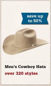 All Mens Cowboy Hats on Sale