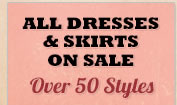 All Womens Dresses and Skirts on Sale