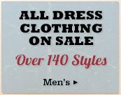 All Mens Dress Clothing on Sale