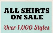 All Shirts on Sale
