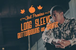 Fall Preview: Long Sleeve Buttondowns & Shorts