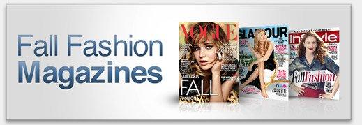 Fall Fashion Magazines