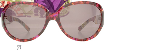 Carol Sunglasses in Plum Crazy