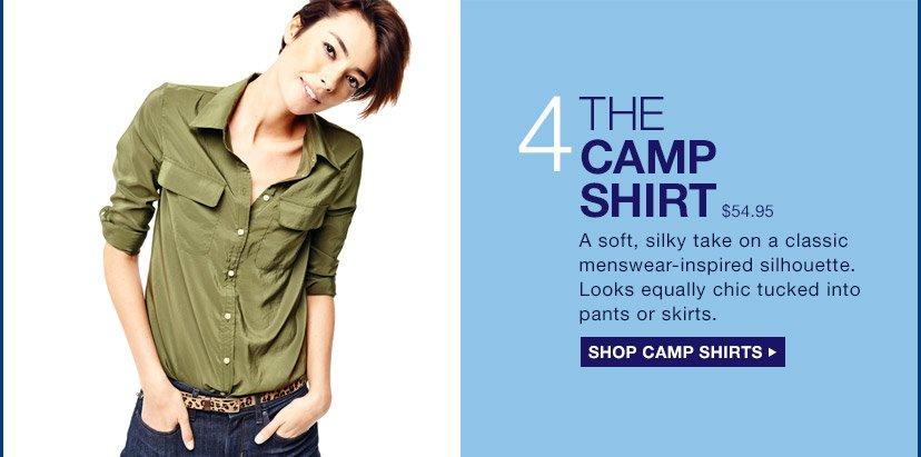 4 | THE CAMP SHIRT | SHOP CAMP SHIRTS