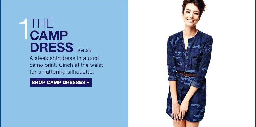 1 | THE CAMP DRESS | SHOP CAMP DRESSES
