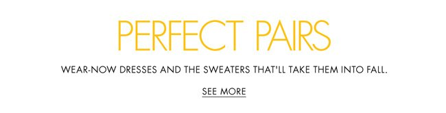 Check out the latest pretty sweaters and the lightweight sweaters that'll take them right into fall.