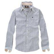 Long Sleeve Meriden Oxford Pinpoint Stripe Shirt