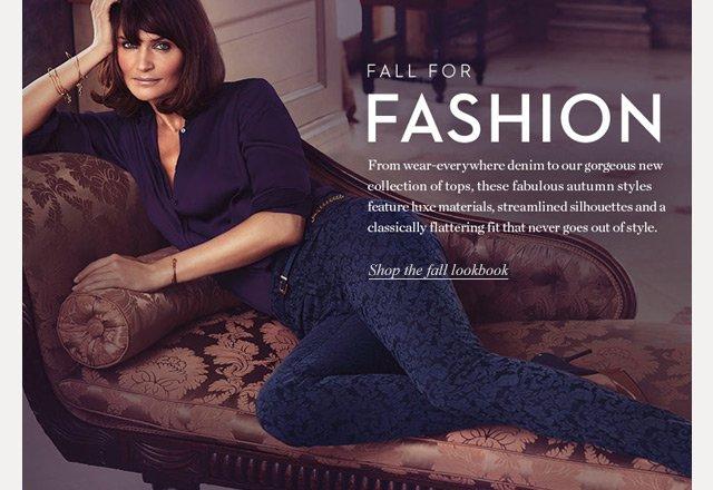 Fall for Fashion | Shop the fall lookbook