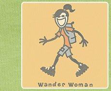 Women's Crusher Tee Wander Woman