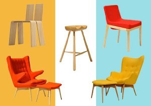Mod Color: Mid-Century Style Seating