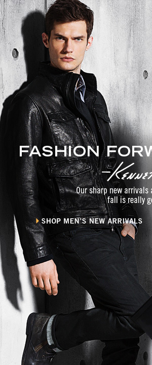 Our sharp new arrivals are a sure reminder that fall is really getting clothes. SHOP MEN'S NEW ARRIVALS