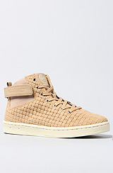Gourmet Nove LX Sneaker in Tan and Papyrus
