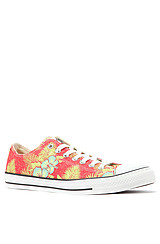 Converse Chuck Taylor All Star Ox Sneaker in Red Hawaiian