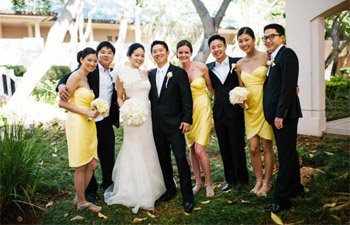 vera wang real wedding lana'i