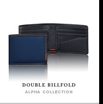Double Billfold - Shop Now