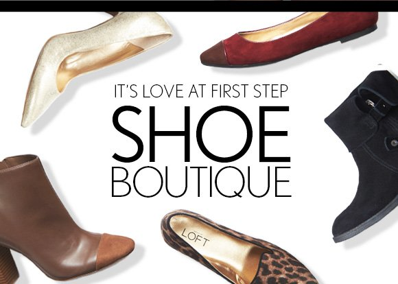 IT'S LOVE AT FIRST STEP SHOE BOUTIQUE