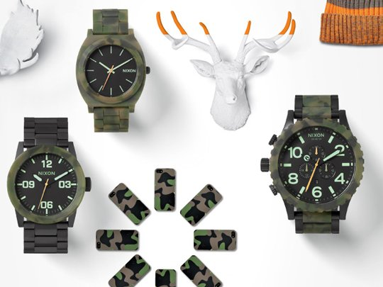 Nixon | The Karmaflage Collection
