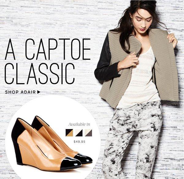 A Captoe Classic. Shop Adair