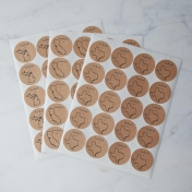 Handmade Mason Jar Labels