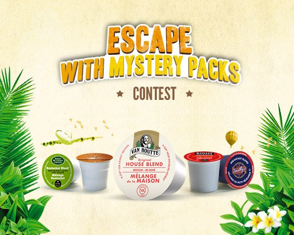 Escape with Mystery Packs Contest
