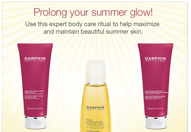 Prolong your summer glow!