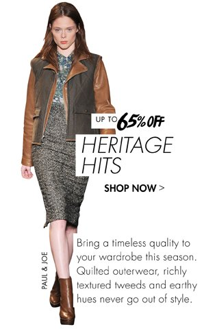 HERITAGE HITS UP TO 65% OFF