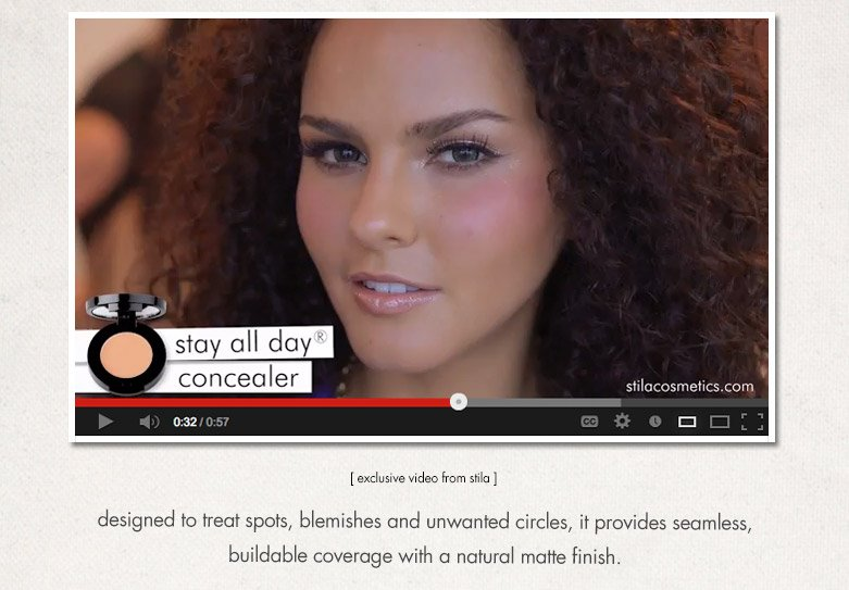 stay all day concealer video
