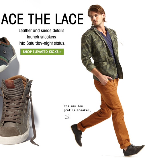 ACE THE LACE | SHOP ELEVATED KICKS