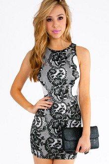 JAMILA LACE PRINT DRESS 35