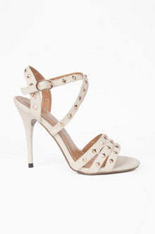 STRAPS AND STUDS HEELS 37