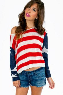 GOD BLESS AMERICA SWEATER 35