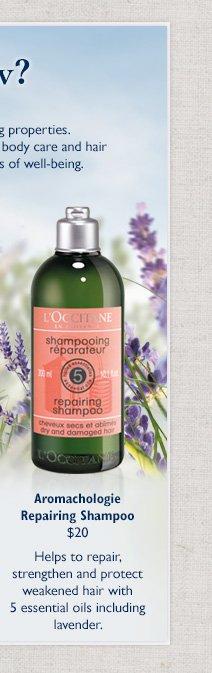 Aromachologie Repairing Shampoo $20