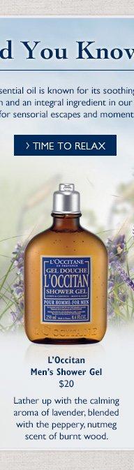 L'Occitan Men's Shower Gel $20