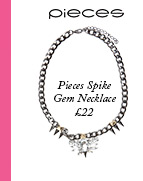 Pieces Spike Large Gem Necklace