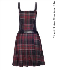 Check Print Pinafore