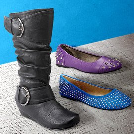 On the Edge: Girls' Shoes