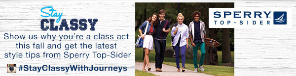 Stay Classy with Sperrys and Journeys- Enter the contest now!