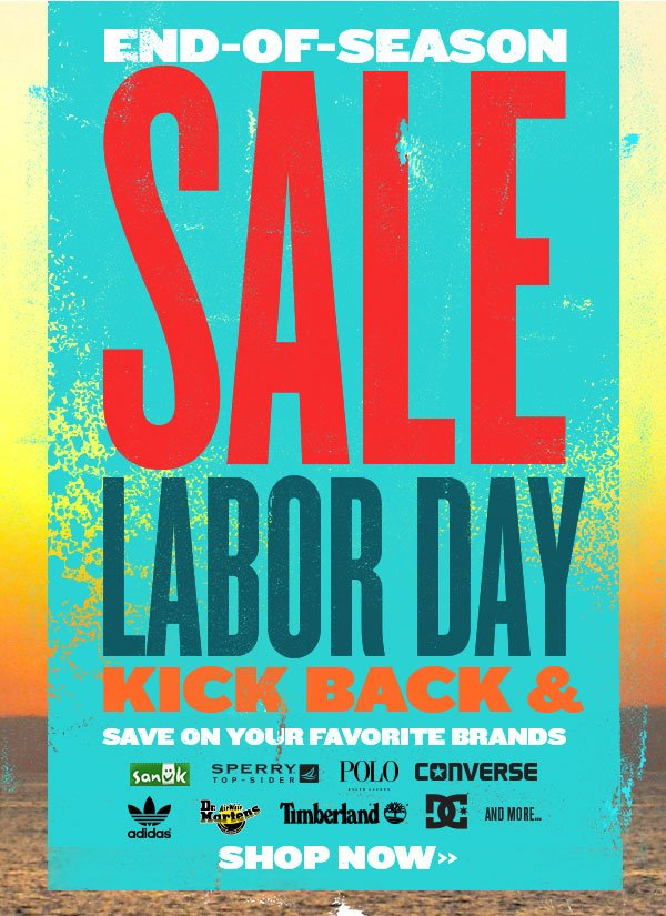 Hurry & Save! Labor Day Sale + Free Shipping