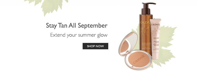 Stay tan all September – extend your summer glow