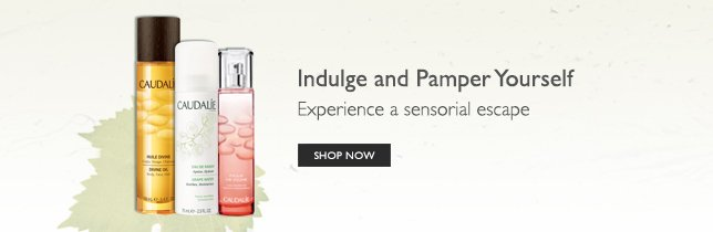 Indulge and pamper yourself – experience a sensorial escape