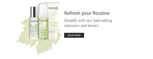 Refresh your routine - simplify with our best-selling cleansers and toners