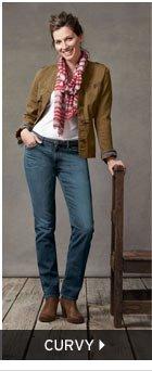 Women's Curvy Jeans