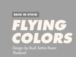 Back in Stock - Flying Colors